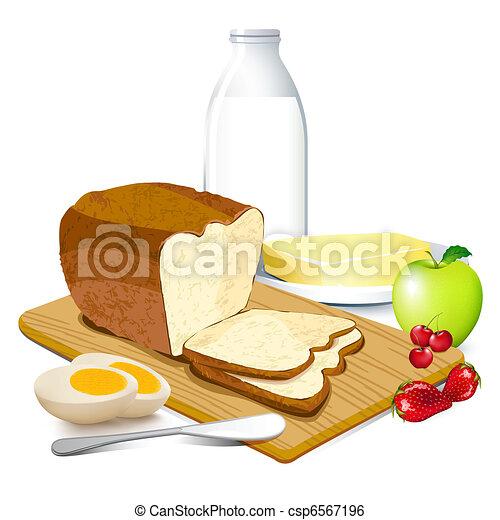 petit déjeuner - csp6567196