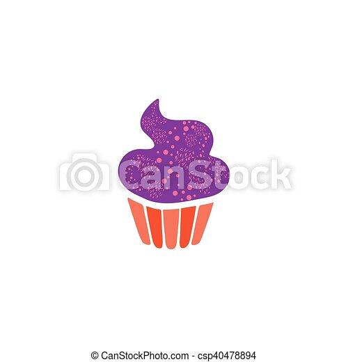 Petit Gâteau Vecteur Icône