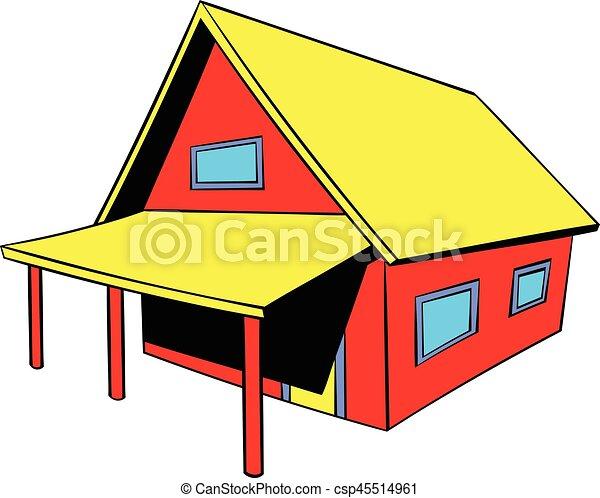 Petit Petite Maison Icne Dessin Anim Icne Style  Clip Art