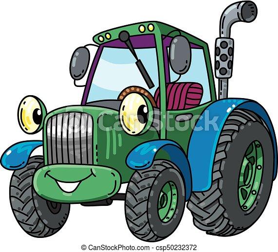 Petit rigolote tracteur eyes rigolote yeux mignon - Tracteur rigolo ...