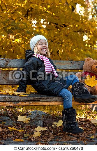 petite fille, joli - csp16260478