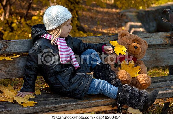 petite fille, joli - csp16260454