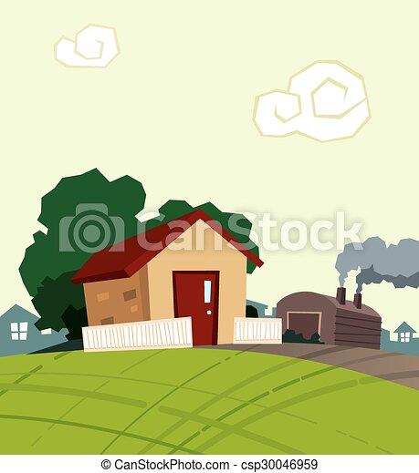 petite maison - csp30046959