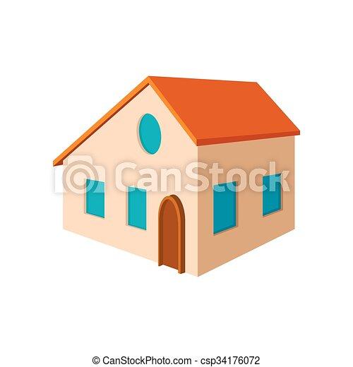Petite Maison Dessin Anim Icne Petite Maison Blanc
