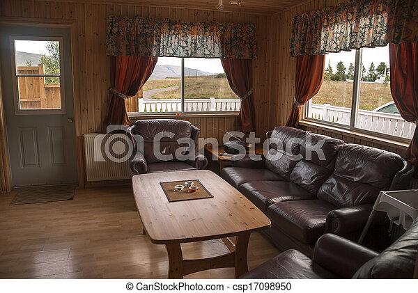 Petite Maison, Islande Photo Libre De Droits
