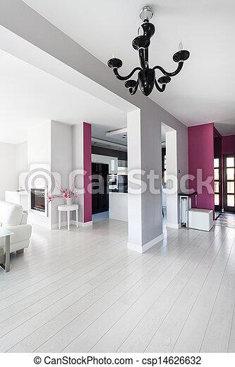 petite maison, vibrant, intérieur, - - csp14626632