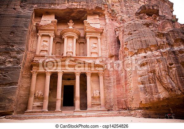 Petra Treasury - csp14254826