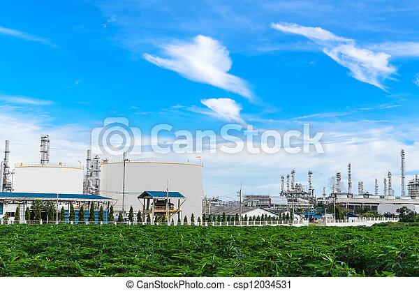 petrochemical plant - csp12034531