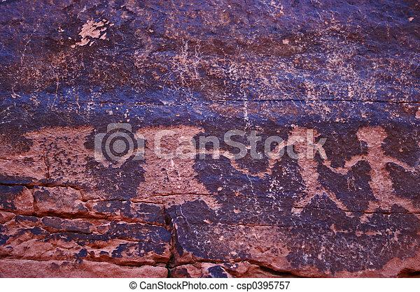 Petroglyphs2 - csp0395757