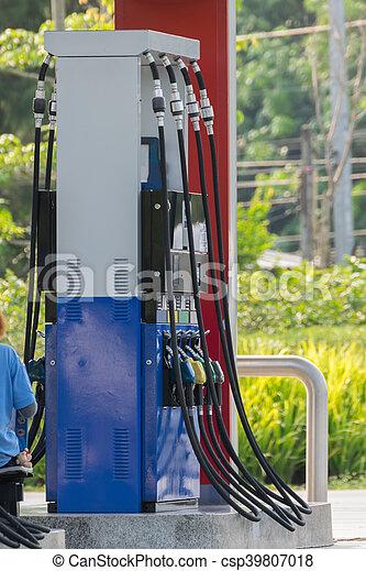 Petrol gas station - csp39807018