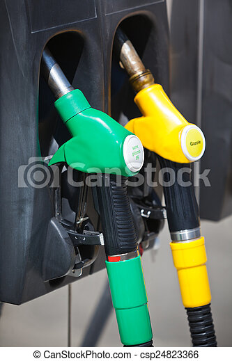 Petrol pumps - csp24823366