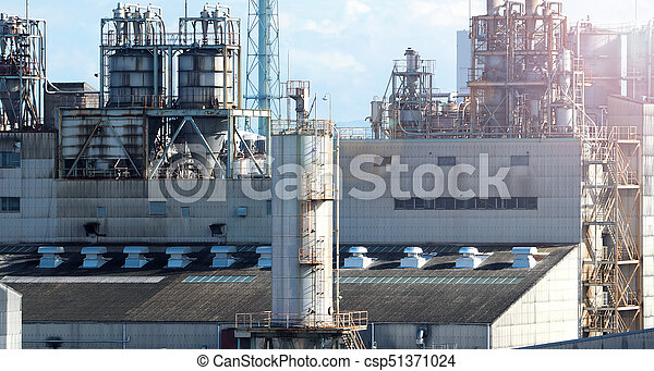 Petroleum plant and sunshine