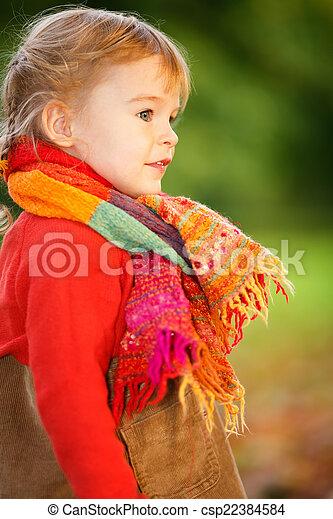 peu, parc, girl - csp22384584