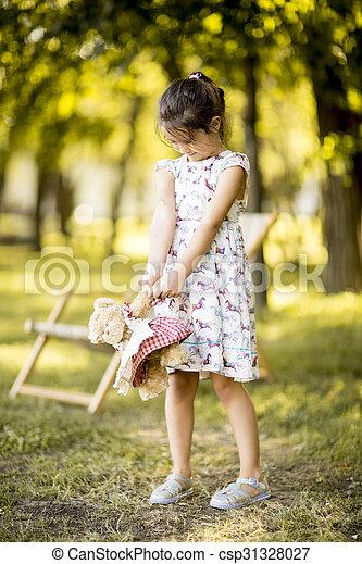 peu, parc, girl - csp31328027