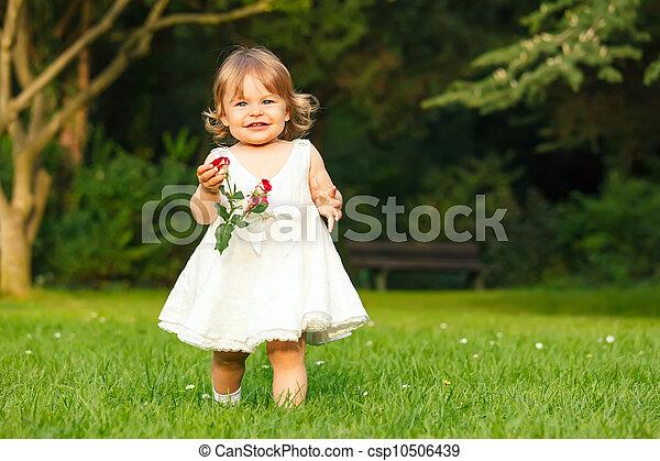 peu, parc, girl - csp10506439