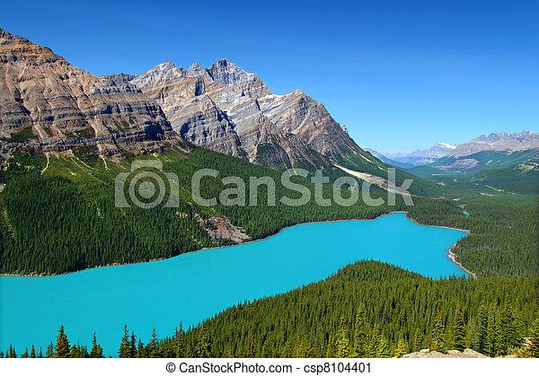 Peyto Lake of Canada - csp8104401