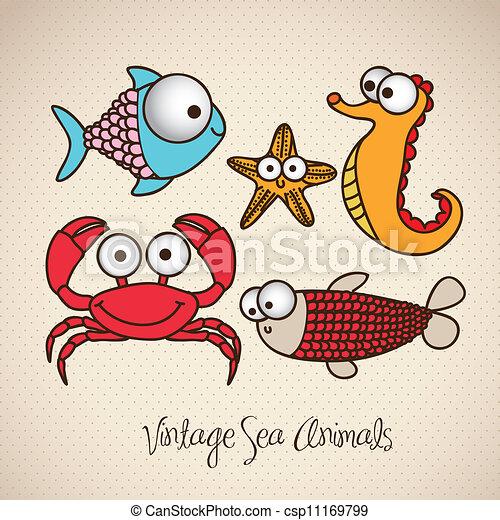 Dibujos de peces - csp11169799