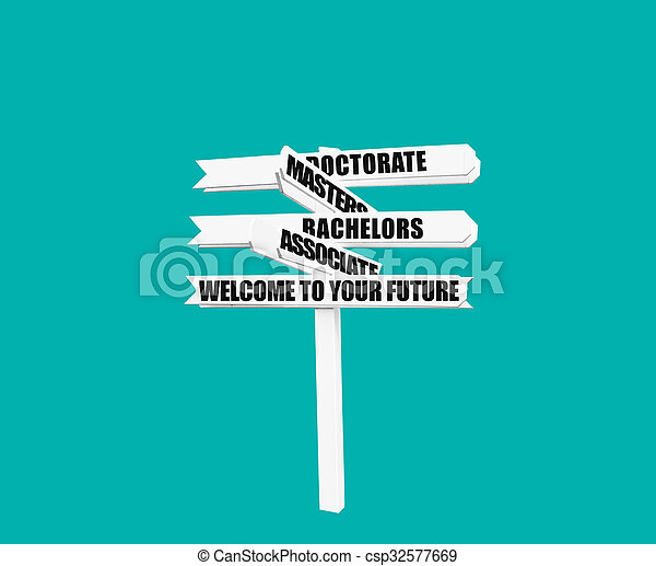pfahl, herzlich willkommen, hochschule, grad, zeichen - csp32577669