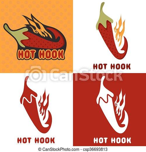 Haken mit alter Flamme