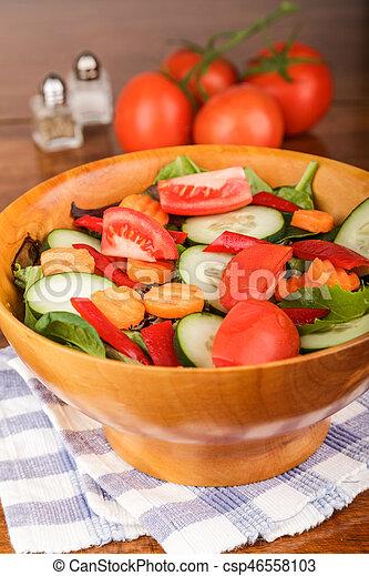 Salatschüssel Holz pfeffer salatschüssel holz salz tomaten möhren holz
