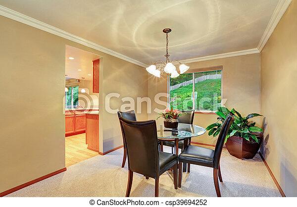 Pflanze, Zimmer, Elegant, Topf, Essen, Inneneinrichtung, Ecke   Csp39694252