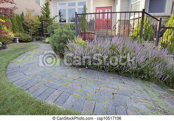 Gartenpflaster - csp10517106