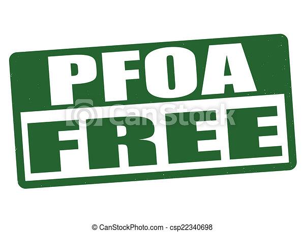 PFOA free stamp