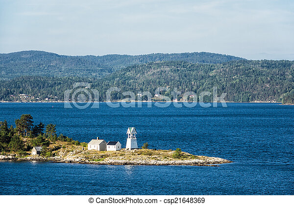 phare, oslofjord - csp21648369