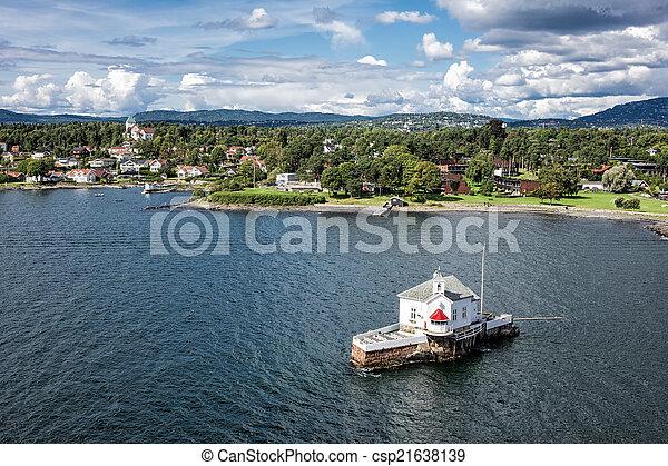 phare, oslofjord - csp21638139
