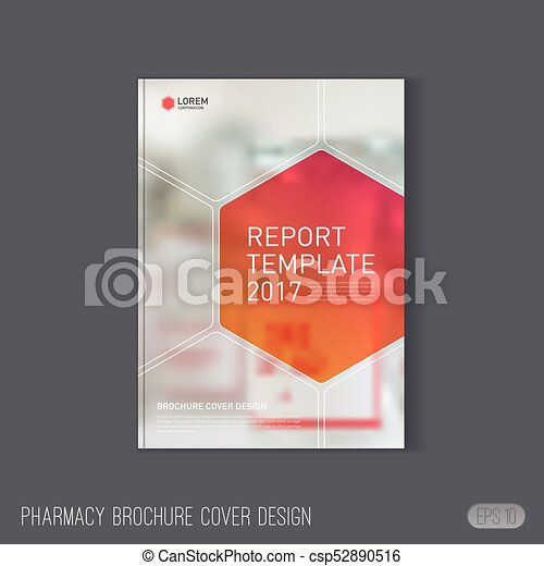Pharmaceutical Brochure Cover Template Medical Brochure Cover