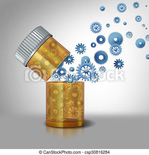 pharmaceutical industry - csp30816284
