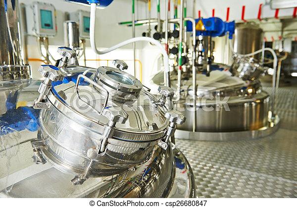 pharmaceutical industry  - csp26680847