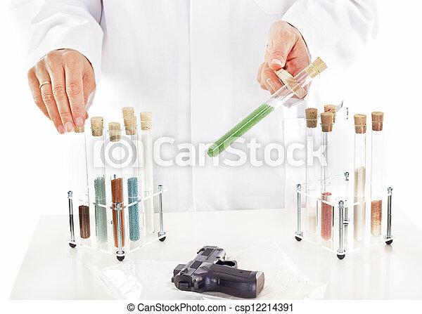Pharmaceutical laboratory - csp12214391