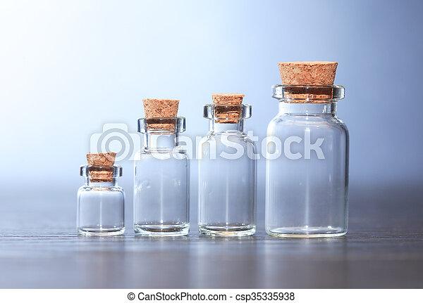 Pharmaceutical Phials Set - csp35335938
