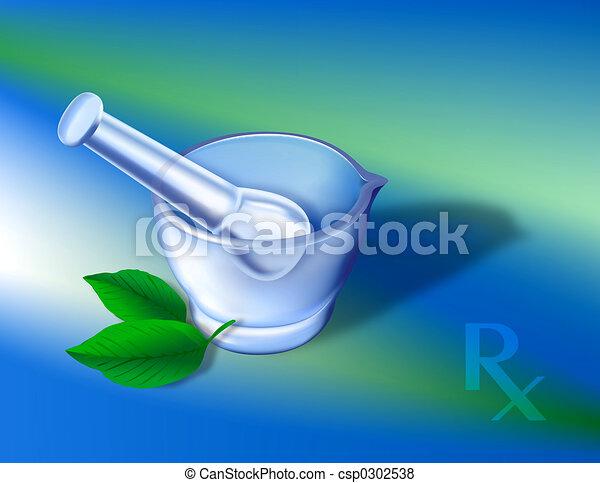 Pharmacy Symbols 1 - csp0302538