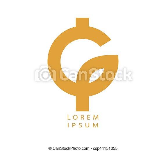 Phi and G Logo Design - csp44151855