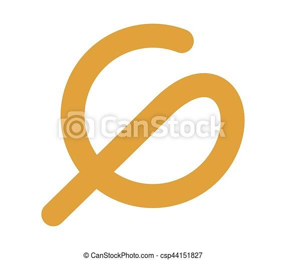 Phi and G Logo Design - csp44151827