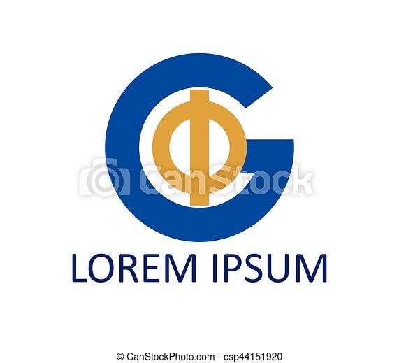 Phi and G Logo Design - csp44151920