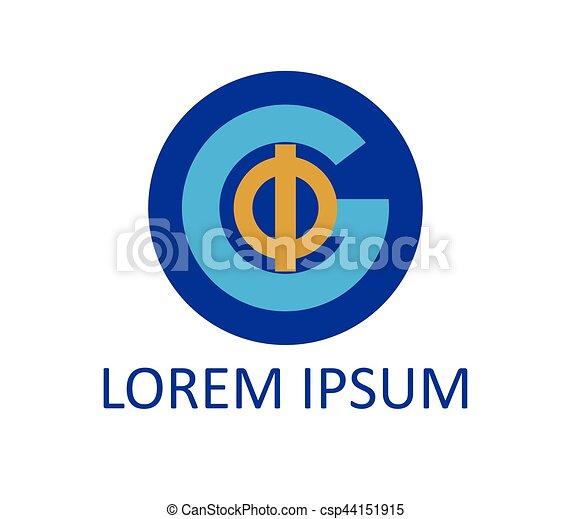 Phi and G Logo Design - csp44151915