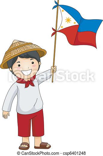 philippine, 日, 独立 - csp6401248
