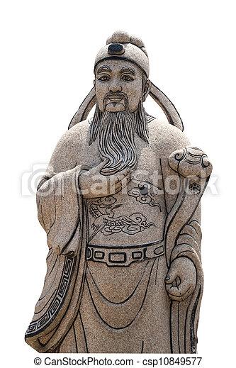 Estatuaciones de filósofos - csp10849577