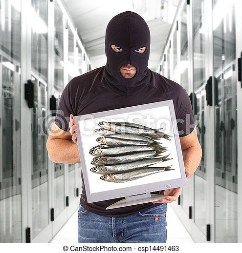 Phishing metaphor - csp14491463