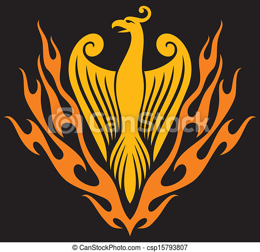 Phoenix bird - csp15793807