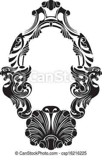 Phoenix decorative frame