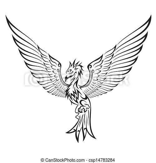 Phoenix tattoo - csp14783284