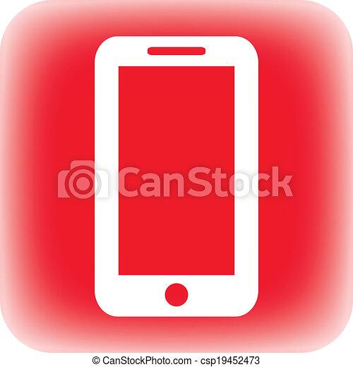 Phone button - csp19452473