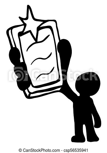 phone flash man stencil phone camera flashing figure eps vector rh canstockphoto com