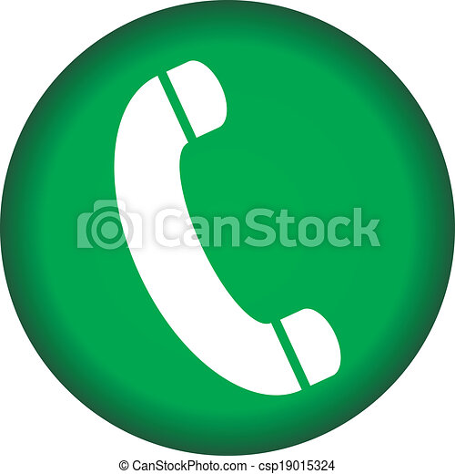 Phone icon button - csp19015324