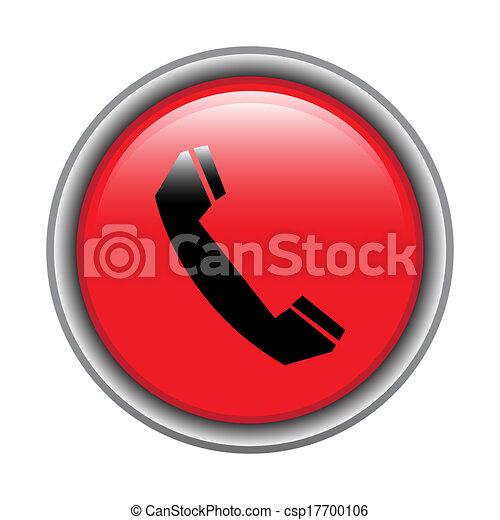Phone icon button - csp17700106