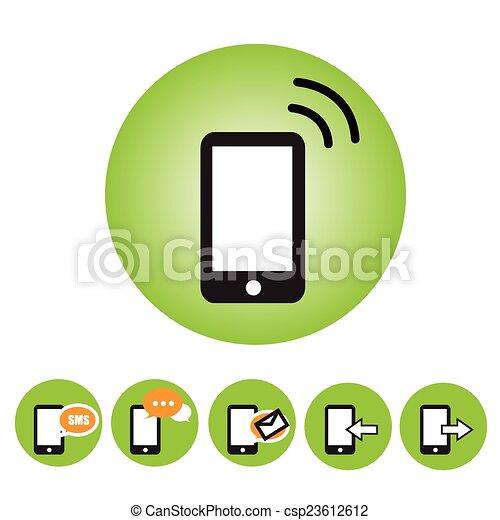 phone icon - csp23612612